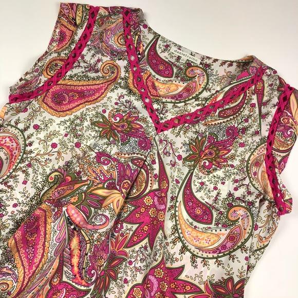 Daniel Rainn Tops Paisley Crochet Blouse Top Poshmark